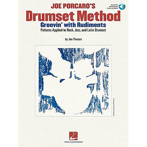 Hal Leonard Joe Porcaro's Drumset Method - Groovin' With The Rudiments (Book/CD)-thumbnail