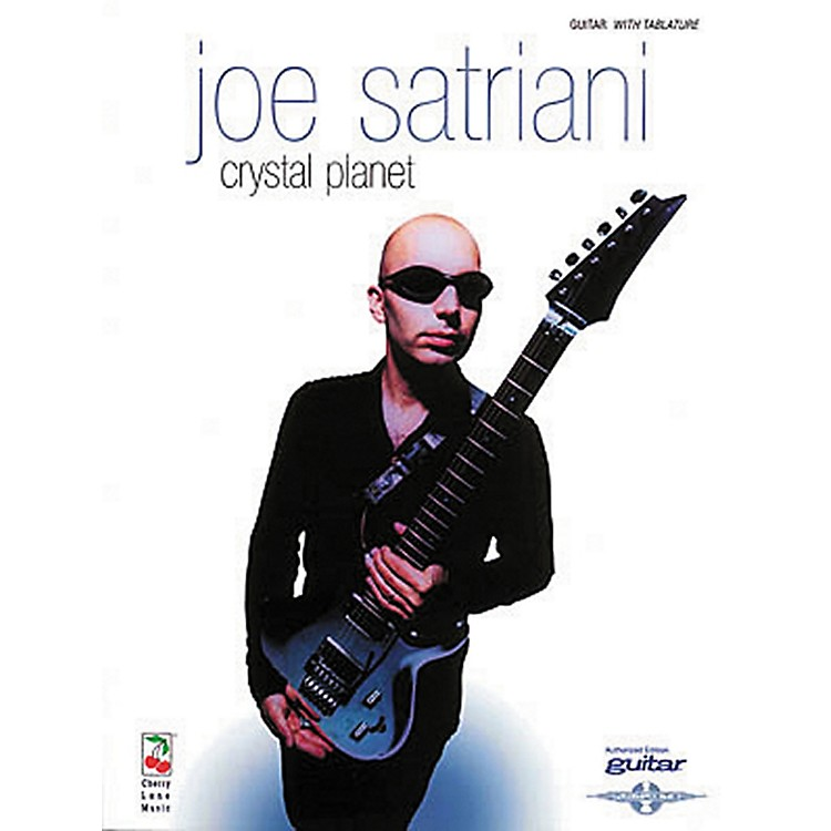 Hal Leonard Joe Satriani Crystal Planet Guitar Tab Songbook