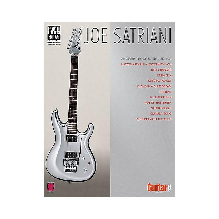 Cherry LaneJoe Satriani Guitar Tab Songbook
