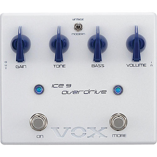 Vox Joe Satriani Ice 9 Overdrive Guitar Effects Pedal