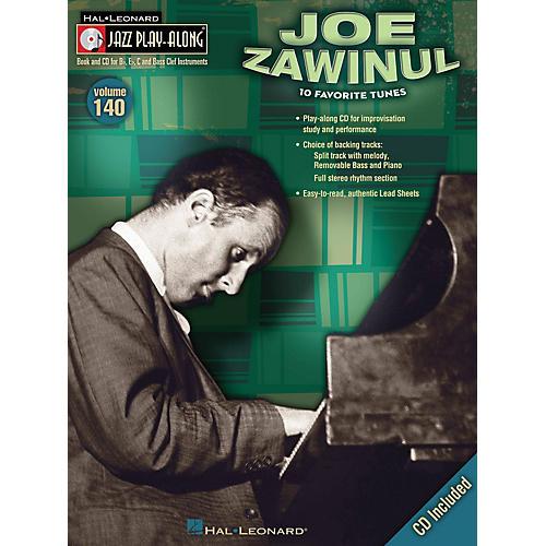 Hal Leonard Joe Zawinul (Jazz Play-Along Volume 140) Jazz Play Along Series Softcover with CD by Joe Zawinul-thumbnail