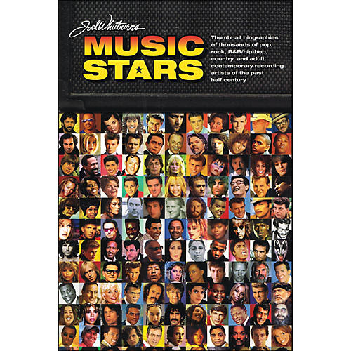 Hal Leonard Joel Whitburn Presents Music Stars - Brief Bios Of Every Recording Artist Whoever Charted