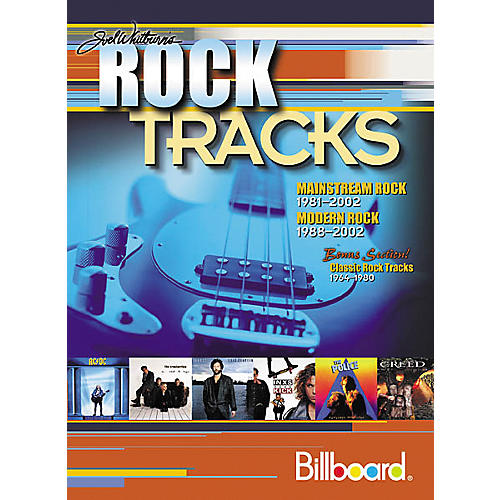 Record Research Joel Whitburn's Rock Tracks Book