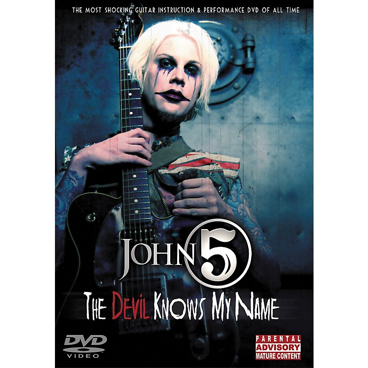 Hal LeonardJohn 5 - The Devil Knows My Name DVD