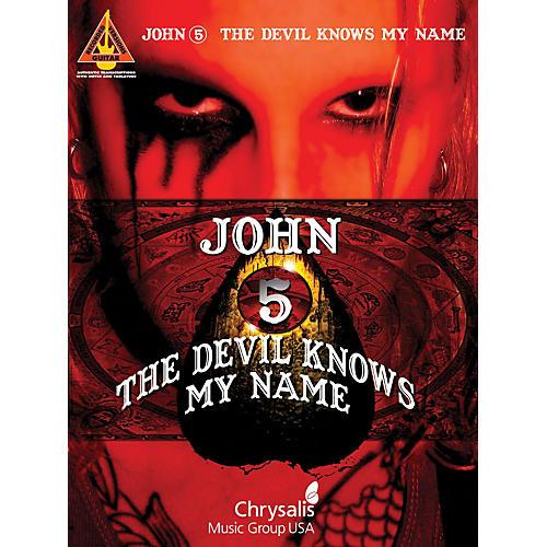 Hal Leonard John 5 - The Devil Knows My Name Guitar Tab Songbook