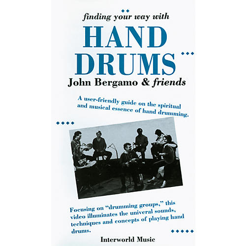 Alfred John Bergamo Finding Your Way with Hand Drums Video