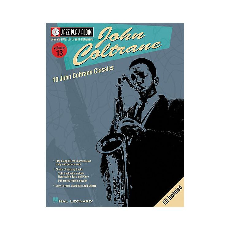 Hal LeonardJohn Coltrane - Jazz Play Along Volume 13 Book with CD