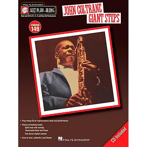 Hal Leonard John Coltrane Giant Steps - Jazz Play-Along Volume 149 Book/CD