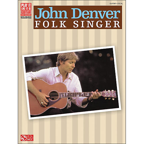 Cherry Lane John Denver Folk Singer Tab Book-thumbnail