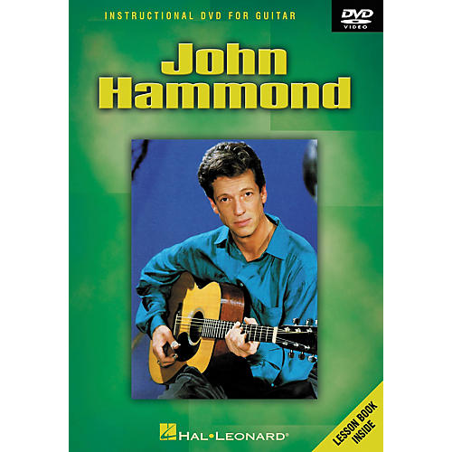 Hal Leonard John Hammond - Instructional Guitar DVD