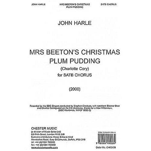 Music Sales John Harle: Mrs Beeton's Christmas Plum Pudding Music Sales America Series