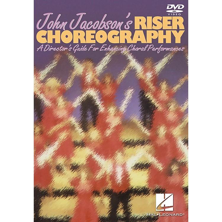 Hal LeonardJohn Jacobson's Riser ChoreographyVhs Video
