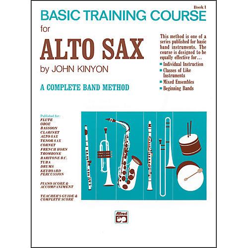 Alfred John Kinyon's Basic Training Course Book 1 Alto Sax-thumbnail