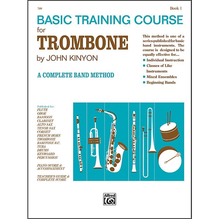 AlfredJohn Kinyon's Basic Training Course Book 1 Trombone