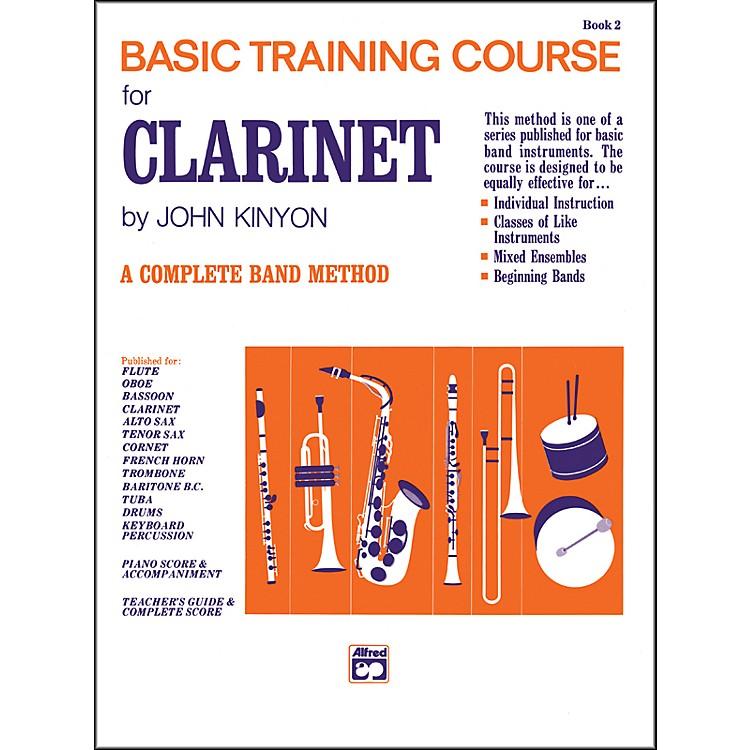 AlfredJohn Kinyon's Basic Training Course Book 2 Clarinet