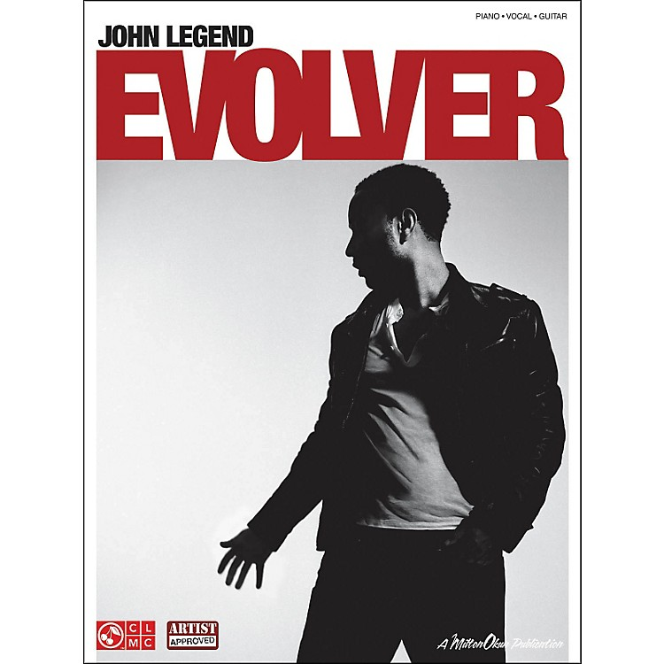 Cherry Lane John Legend: Evolver arranged for piano, vocal, and guitar (P/V/G)