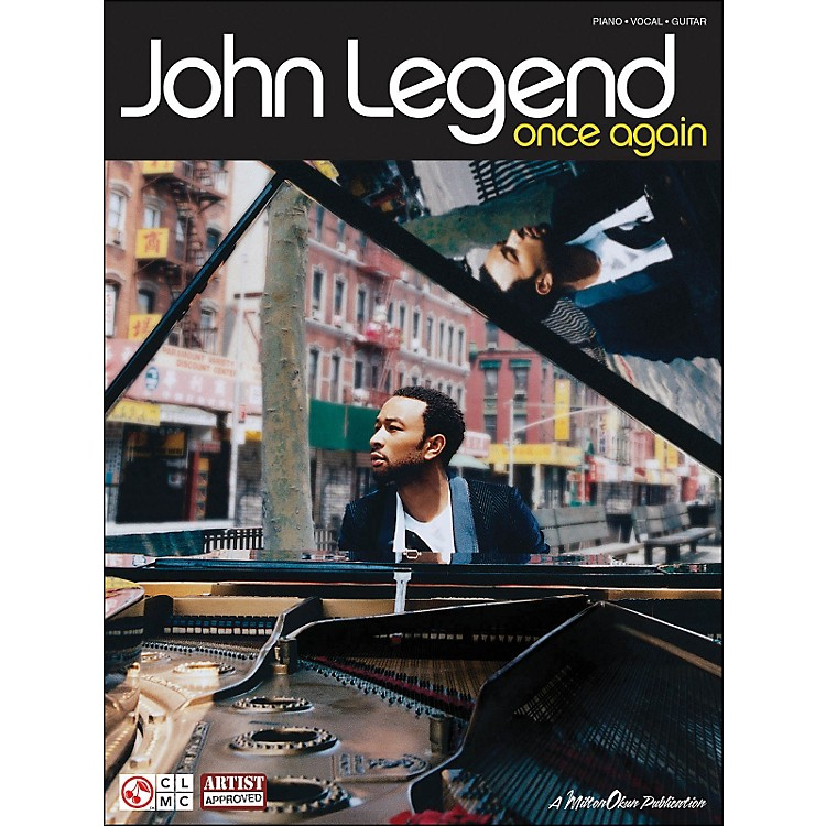 Cherry LaneJohn Legend Once Again arranged for piano, vocal, and guitar (P/V/G)