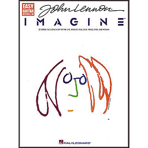 Hal Leonard John Lennon - Imagine Easy Guitar Tab Songbook