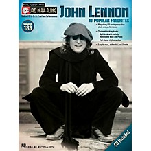 Hal Leonard John Lennon - Jazz Play-Along Volume 189 (Book/CD)