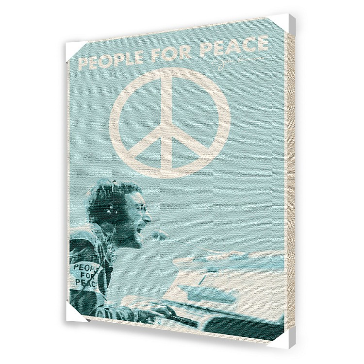 Ace Framing John Lennon People For Peace Framed Artwork