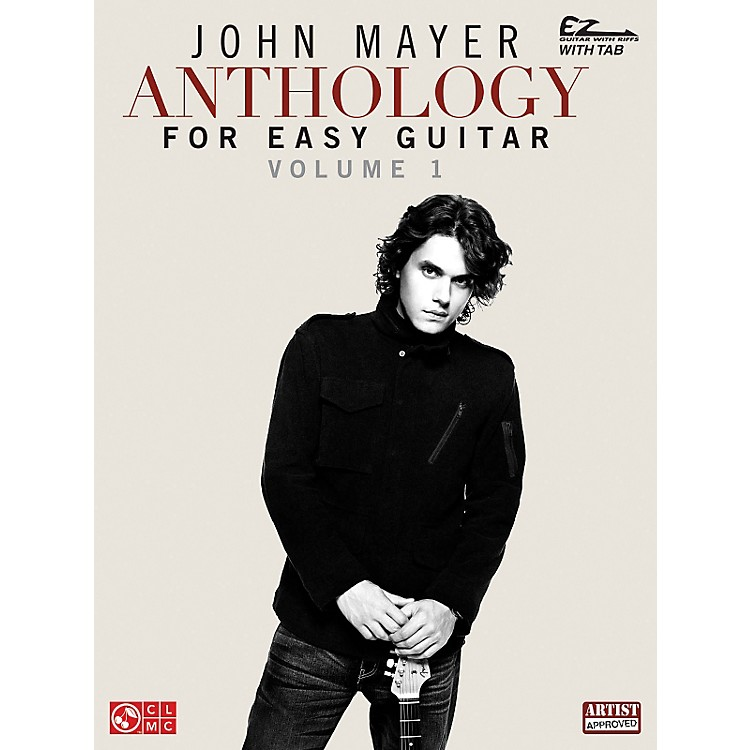Cherry Lane John Mayer Anthology For Easy Guitar Tab