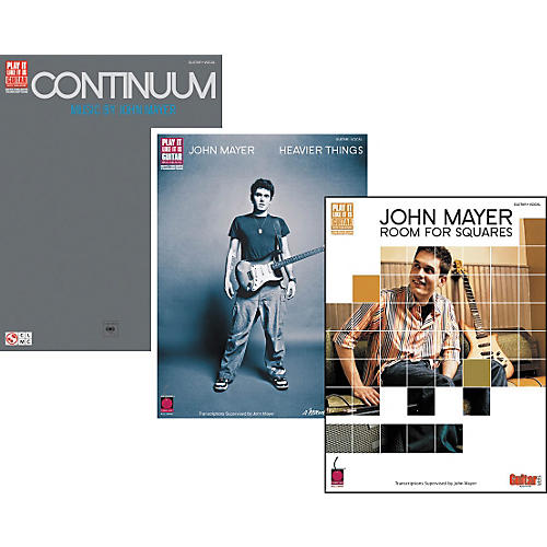 Cherry Lane John Mayer Complete Guitar Tab Library