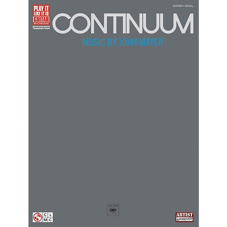 Hal LeonardJohn Mayer Continuum Guitar Tab Songbook
