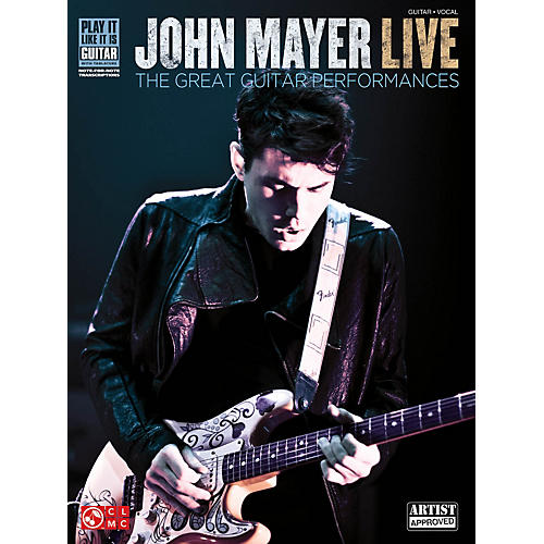 Cherry Lane John Mayer Live - The Great Guitar Performances Guitar Tab Songbook