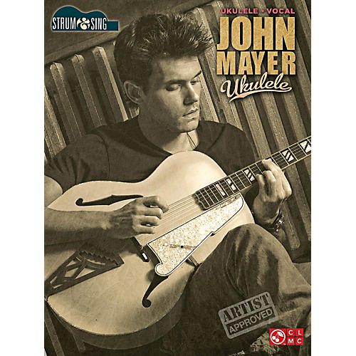 Cherry Lane John Mayer Strum & Sing Ukulele Songbook-thumbnail