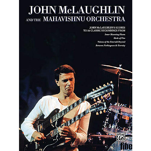 Alfred John McLaughlin & the Mahavishnu Orchestra Transcribed Score Series Softcover by John McLaughlin-thumbnail