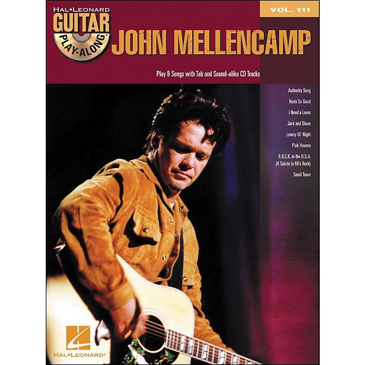 Hal LeonardJohn Mellencamp - Guitar Play-Along Volume 111 (Book/CD)