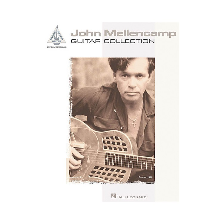 Hal Leonard John Mellencamp Guitar Collection Guitar Tab Songbook