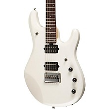 Ernie Ball Music Man John Petrucci 6 Electric Guitar w/ Piezo Bridge White Pearl Chrome Hardware
