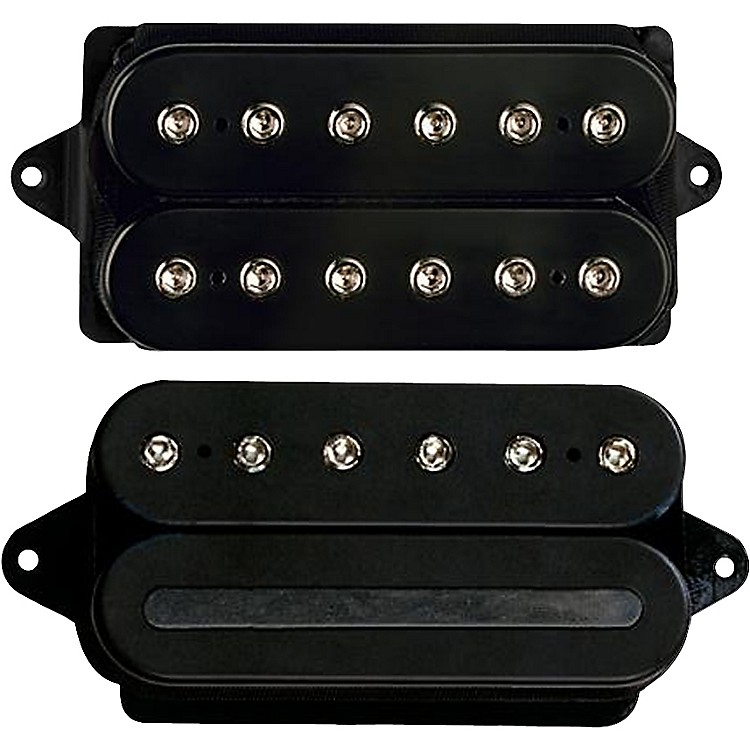 DiMarzio John Petrucci Pickup Set Black For 43mm Nut (1-11/16