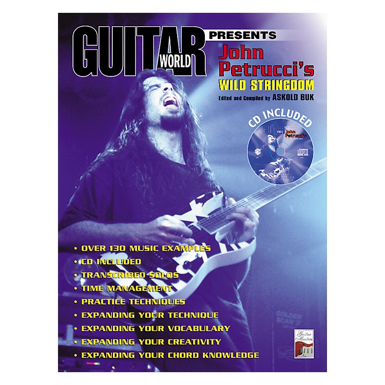 Alfred John Petrucci's Wild Stringdom (Book/CD)