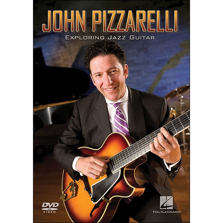 Hal Leonard John Pizzarelli - Exploring Jazz Guitar Instructional (DVD)