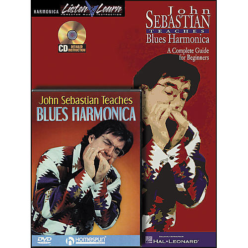 Hal Leonard John Sebastian Bundle Pack (Book/CD/DVD)