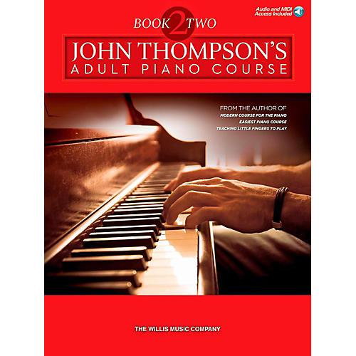 Hal Leonard John Thompson's Adult Piano Course - Book 2 Book/Online Audio