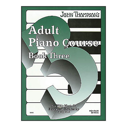 Willis Music John Thompson's Adult Piano Course Book Three