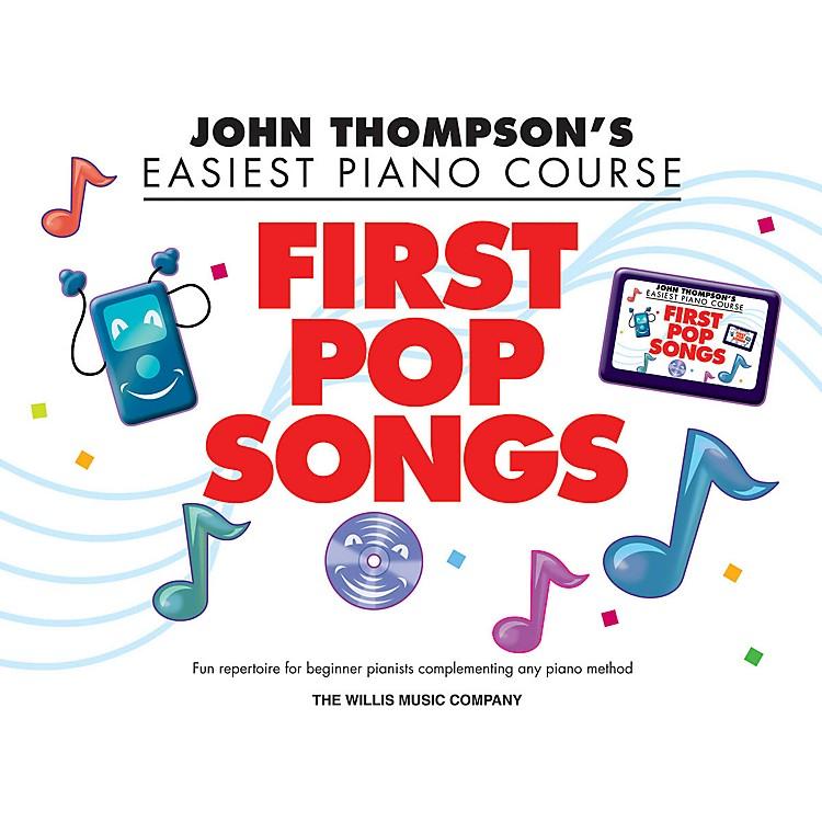 Hal LeonardJohn Thompson's Easiest Piano Course - First Pop Songs Elementary Songbook