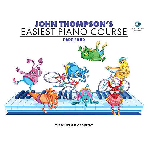 Willis Music John Thompson's Easiest Piano Course - Part 4 - Book/CD Pack Willis Series CD Written by John Thompson