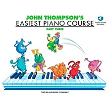 Willis Music John Thompson's Easiest Piano Course Part 3 Book/CD
