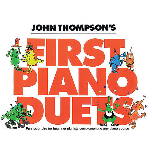 Willis Music John Thompson's First Piano Duets Willis Series Book by Various (Level Elem)-thumbnail
