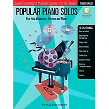 Willis Music John Thompson's Modern Course for Piano - Popular Piano Solos Grade 3 Book/CD