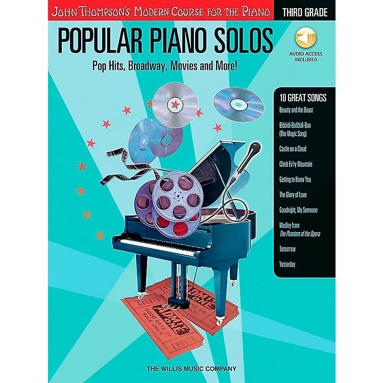 Willis MusicJohn Thompson's Modern Course for Piano - Popular Piano Solos Grade 3 Book/CD