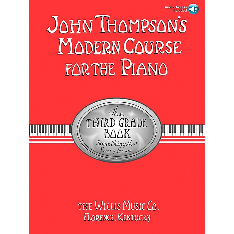 Willis Music John Thompson's Modern Course for Piano Grade 3 Book/CD