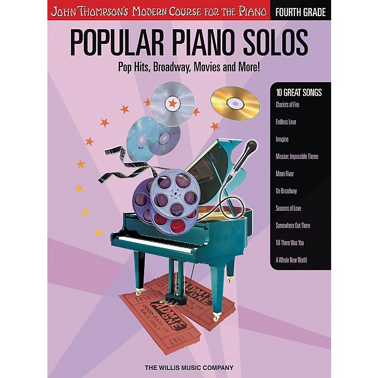 Willis Music John Thompson's Modern Course for The Piano - Popular Piano Solos Grade 4