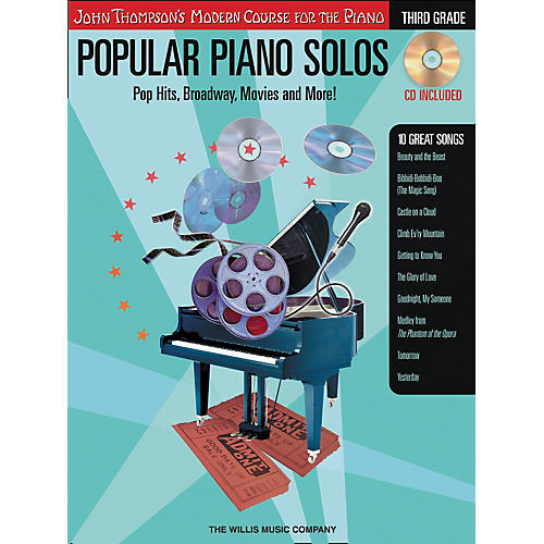 Willis Music John Thompson's Modern Course for The Piano - Popular Piano Solos Grade three-thumbnail