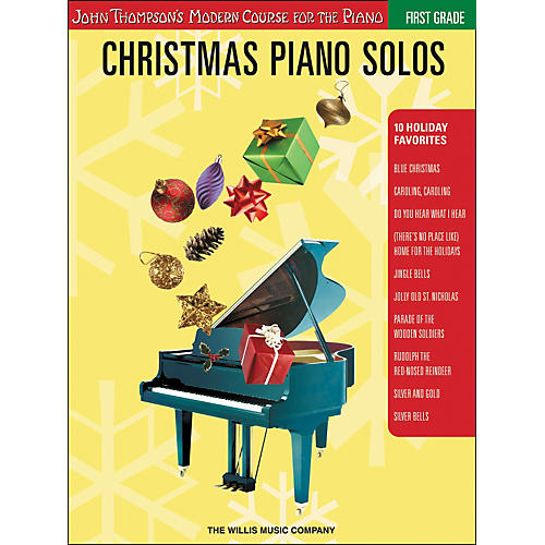 Willis Music John Thompson's Modern Course for the Piano - Christmas Piano Solos First Grade
