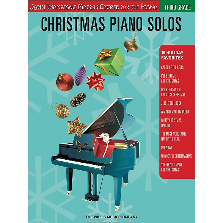 Willis Music John Thompson's Modern Course for the Piano - Christmas Piano Solos Third Grade